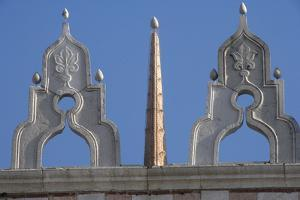 Finials on the Roof of the Doge's Palace, Venice