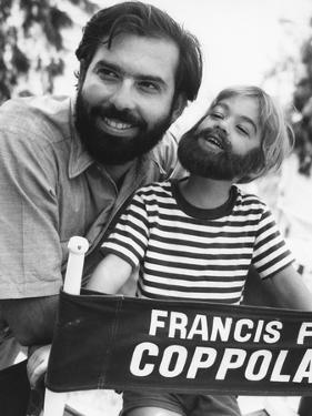 FINIAN'S RAINBOW, 1968 directed by FRANCIS FORD COPPOLA On the set, Francis Ford Coppola (b/w photo