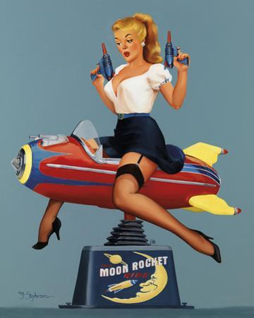 Moon Rocket Ride by Fiona Stephenson