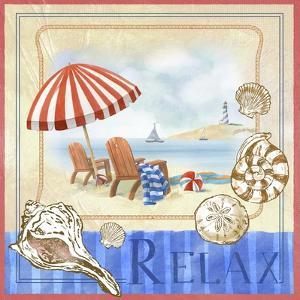 Beach Life I by Fiona Stokes-Gilbert