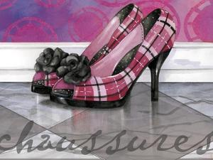 Plaid Heels by Fiona Stokes-Gilbert