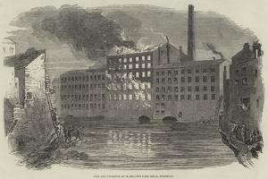 Fire and Explosion at Marsland's Park Mills, Stockport