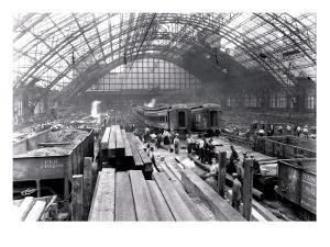 Fire at the Pennsylvania Railroad, Philadelphia, Pennsylvania