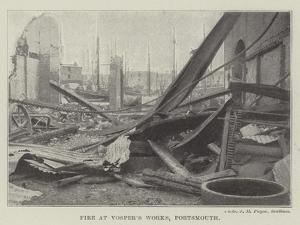 Fire at Vosper's Works, Portsmouth