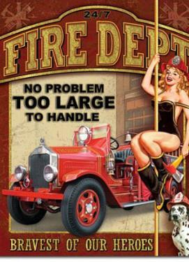 Fire Department No Problem Too Large