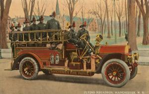 Fire Truck, Manchester, New Hampshire