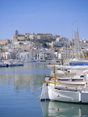Ibiza Town and Harbour, Ibiza, Balearic Islands, Spain, Europe by Firecrest Pictures