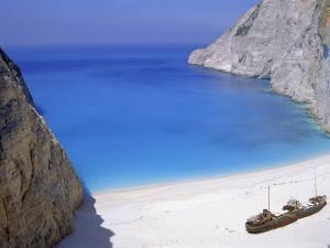 Shipwreck Cove, Zakinthos, Ionian Islands, Greece, Europe by Firecrest Pictures