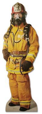 Firefighter Lifesize Cardboard Cutout