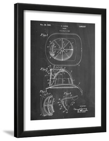 Firemen Helmet Patent