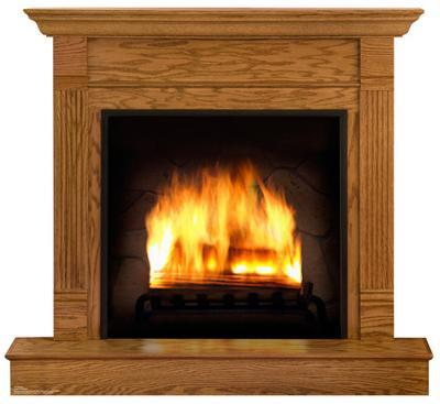 Fireplace Lifesize Standup