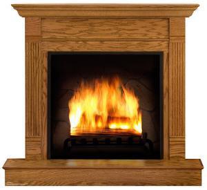 Fireplace Lifesize Standup