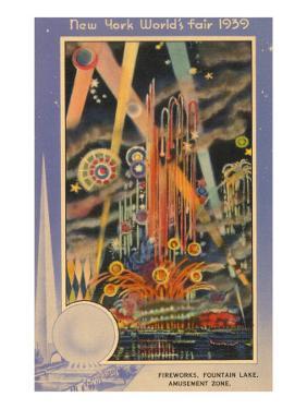 Fireworks, New York World's Fair, 1939