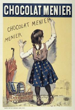 Poster Advertising Chocolat Menier, 1893 by Firmin Bouisset