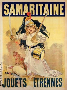Poster Advertising Toys for Sale at 'La Samaritaine' by Firmin Bouisset