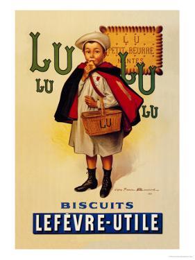 Lu Lu Biscuits by Firmin Etienne Bouisset