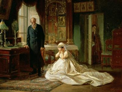 At the Altar, 1870S