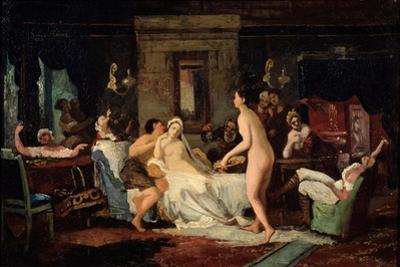 Eve-Of-The-Wedding Party in a Bath, 1885