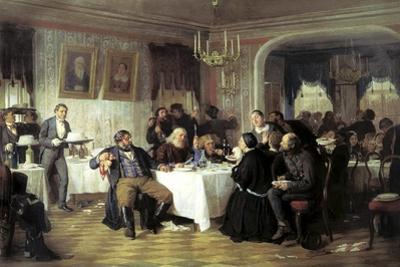 Merchant's Funeral Banquet, 1870s