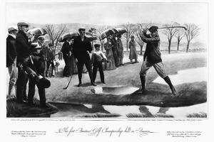 First Amateur Golf Championship in America