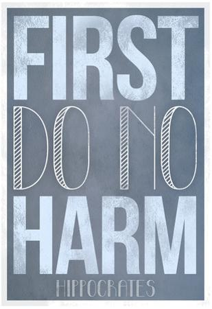 First Do No Harm Poster