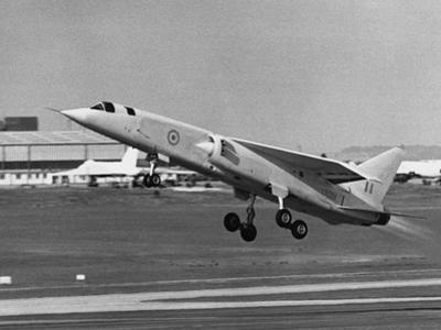 First Flight of Bac Tsr.2