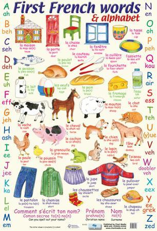 First French Words & Alphabet