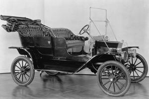 First Model T Ford