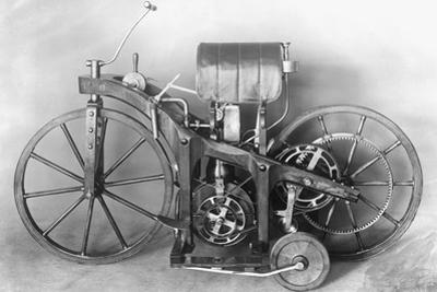 First Motorcycle Constructed