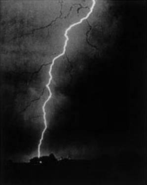 First Photograph Of Lightening