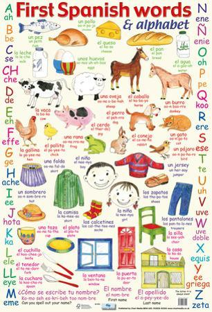 First Spanish Words & Alphabet