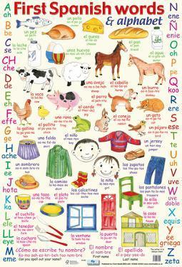 First Spanish Words & Alphabet