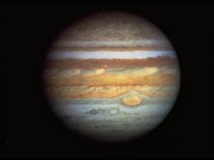 First True-Color Photo of Planet Jupiter Taken from Hubble Space Telescope