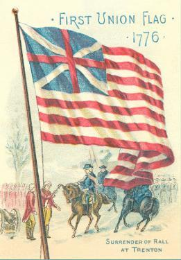 First Union Flag, 1776