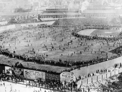 First World Series Game