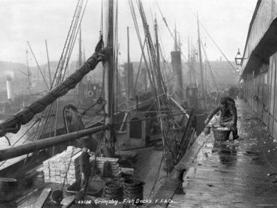 Fish Docks, Grimsby, Early 20th Century