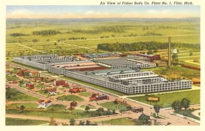 Fisher Body Plant, Flint, Michigan