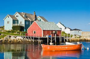Fisherman's house Peggy's Cove