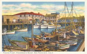 Fisherman's Wharf, San Francisco, California