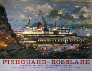 Fishguard, Rosslare, Southern Ireland