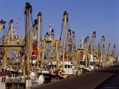 Fishing Fleet, Den Helder, Holland by I Vanderharst