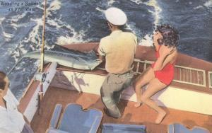 Fishing from Motorboat, Florida