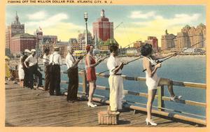 Fishing Pier, Atlantic City, New Jersey
