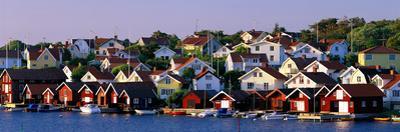 Fishing Village on the West Coast Fiskebaeckskil Sweden
