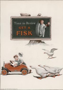 Fisk Tyres, Time to Re-Tire