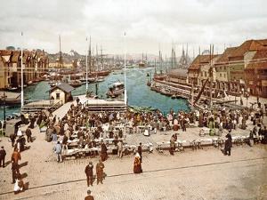 Fisketorget, Bergen, Pub. C.1900