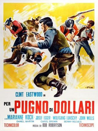 Fistful of Dollars, 1964 (Per Un Pugno Di Dollari)