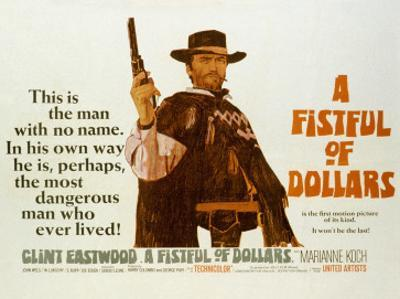 Fistful of Dollars, Clint Eastwood, 1964