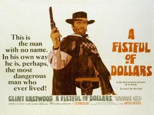 Fistful of Dollars, Clint Eastwood, 1964