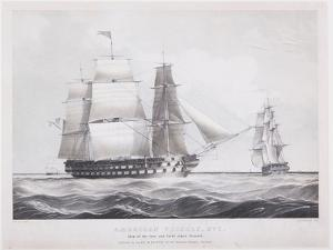 American Vessels No. 1, c.1845 by Fitz Henry Lane